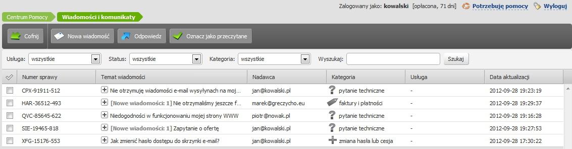 Jak wysłać wiadomość do home.pl przez formularz kontaktowy?