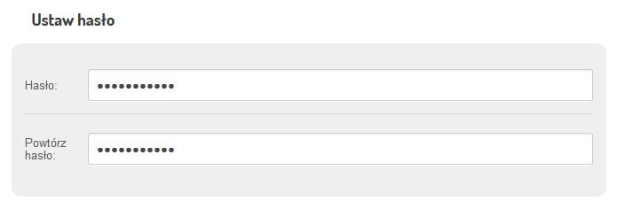 FreshMail - Załóż darmowe konto - Formularz rejestracji - Zarejestruj się - Określ hasło dostępu do konta
