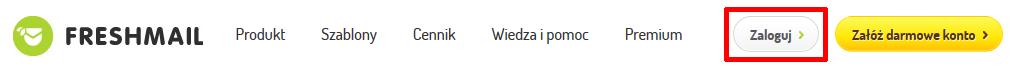 Jak zalogować się do konta w FreshMail.pl?