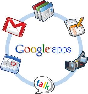 Obrazek przedstawiający logo Google apps