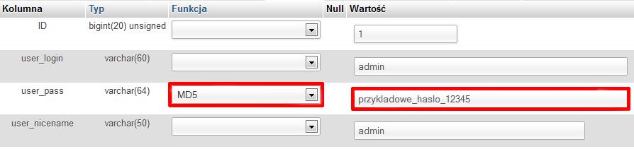 haslowpadmin - Co zrobić, jeśli nie pamiętam hasła do panelu WordPress?