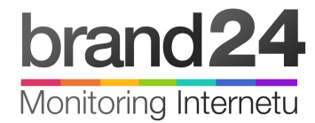 Logo Brand24 - Monitoring Internetu