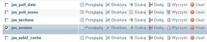 naprawtabele23 - Jak naprawić uszkodzoną tabelę w bazie MySQL?