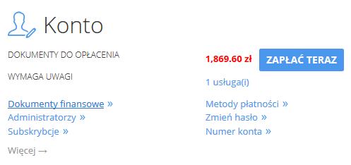 Jak opłacić zamówienie na Acronis Backup?