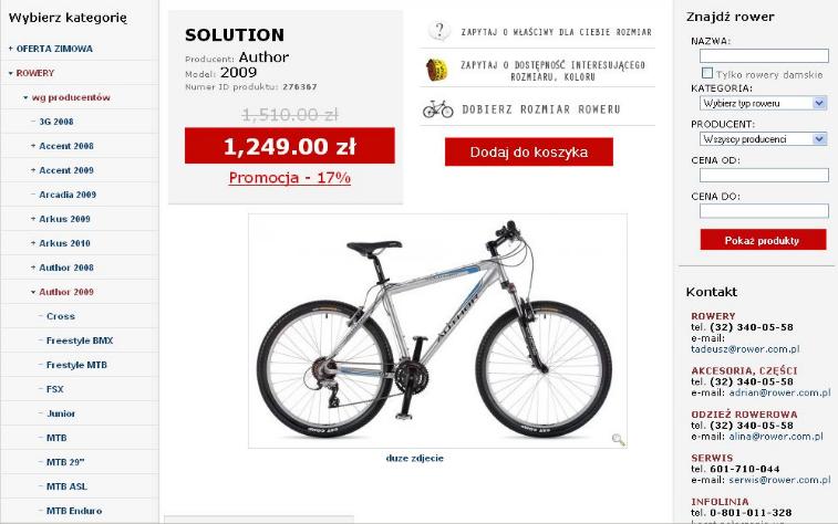 Aukcje internetowe - Zdjęcia na aukcje - Przykładowe zdjęcie na karcie produktu