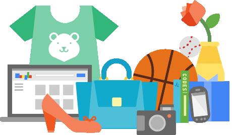 Przedstawione logo Google Merchant Center