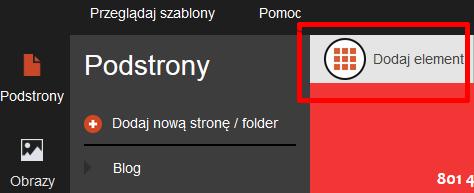 Wstawianie pliku do pobrania w Click Web (moduł Dropbox)