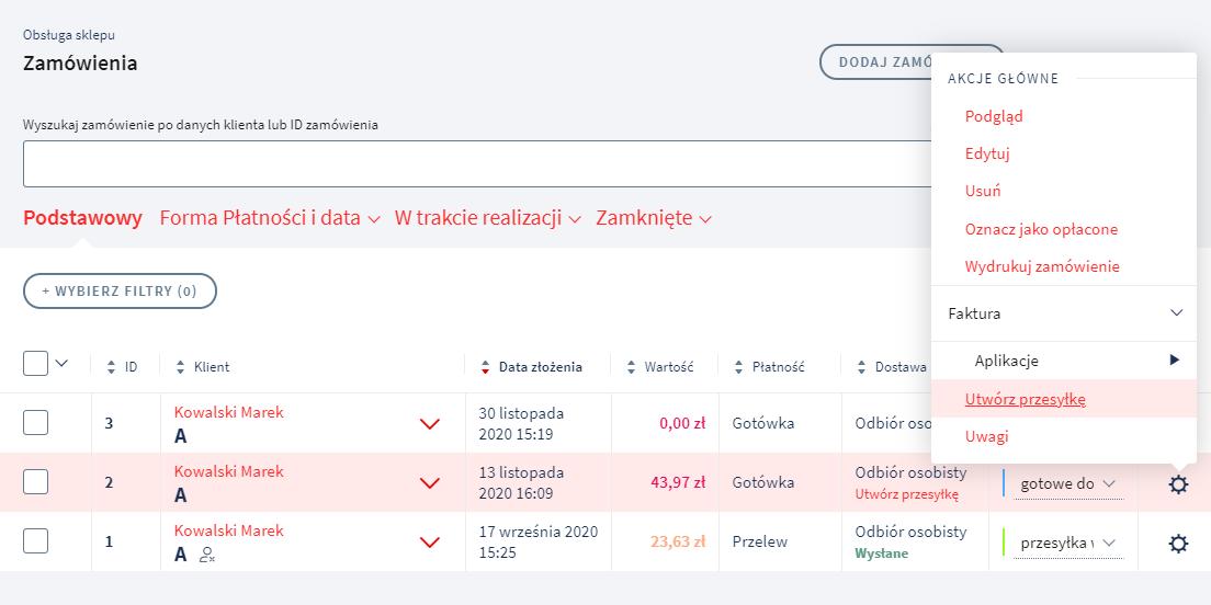 Jak za pomocą Apaczka.pl wysłać przesyłkę kurierem DHL?