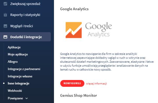 Jak dodać do sklepu kod śledzenia Google Analytics?