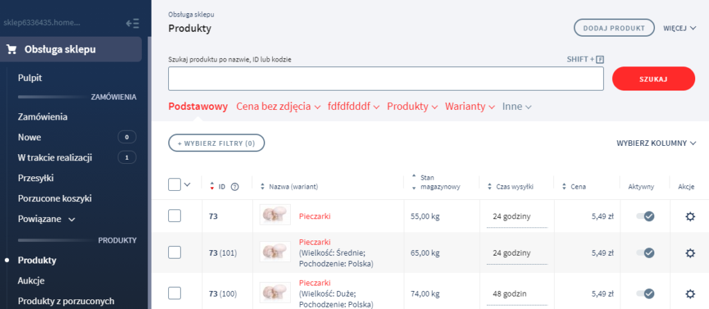 Jak dodać nowy produkt do sklepu?