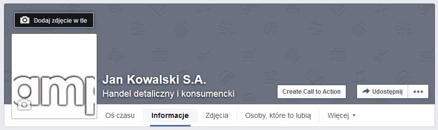 Facebook - Zaloguj się do swojego konta Facebook i przejdź do profilu