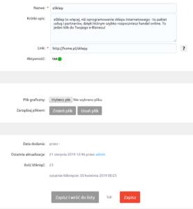 Rekomendowane strony WWW eSklep