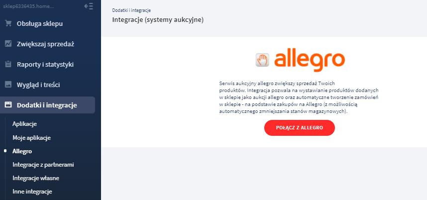 Do Czego Sluzy Opcja Integracje Z Allegro Pomoc Home Pl