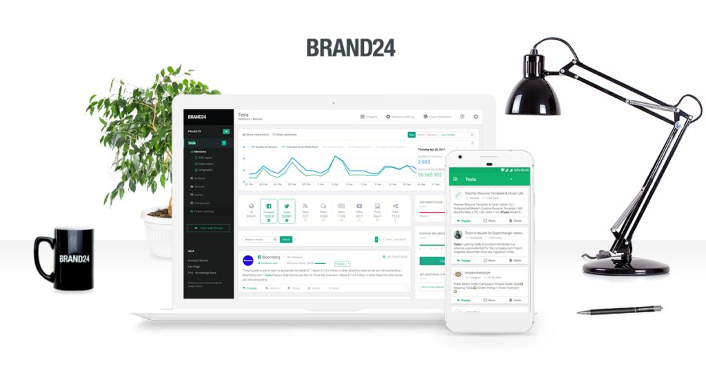 Brand24 – badaj opinie o marce lub produkcie