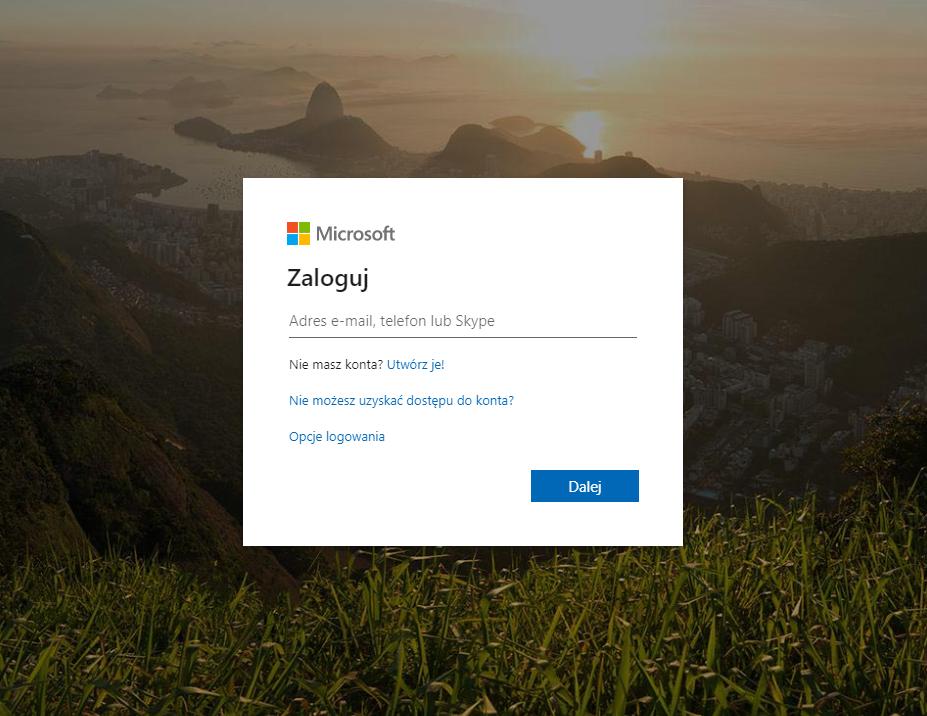 Jak zalogować się do usługi Office 365?