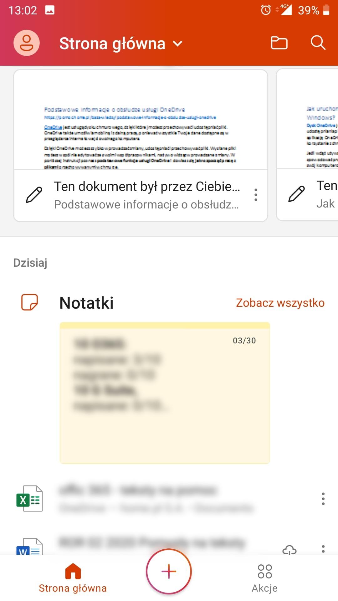 Mobilna aplikacja Office na iOS i Android