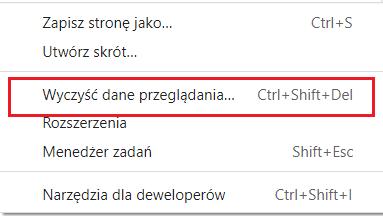 Jak wyczyścić pamięć podręczną i pliki cookie w przeglądarce Chrome?