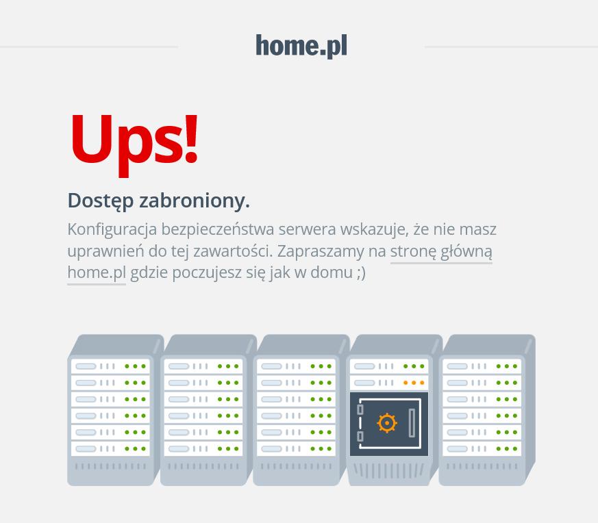 Jak wygląda błąd 403 na stronie https://home.pl?