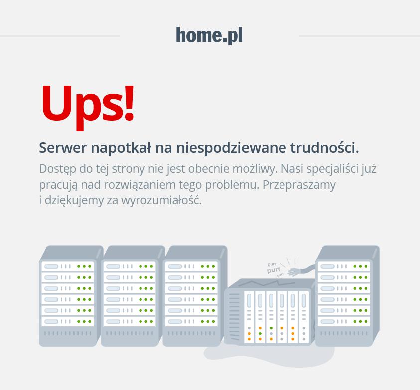 Przykładowy komunikat błędu 503 na stronie: https://home.pl