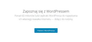 WordPress - Paczka instalacyjna WordPress - Pobierz archiwum z plikami WordPressa