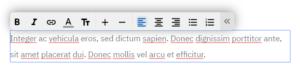 Edycja modułu tekst na stronie WWW