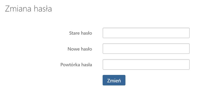 Jakie ustawienia mogę zmienić w sekcji Zmiana hasła w Poczcie home.pl?