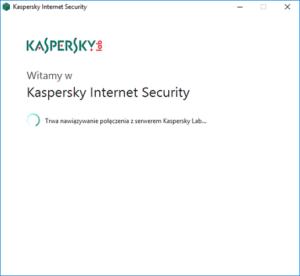 Kaspersky Internet Security - Kreator instalacji - Poczekaj chwilę, aż paczka instalacyjna zostanie uruchomiona