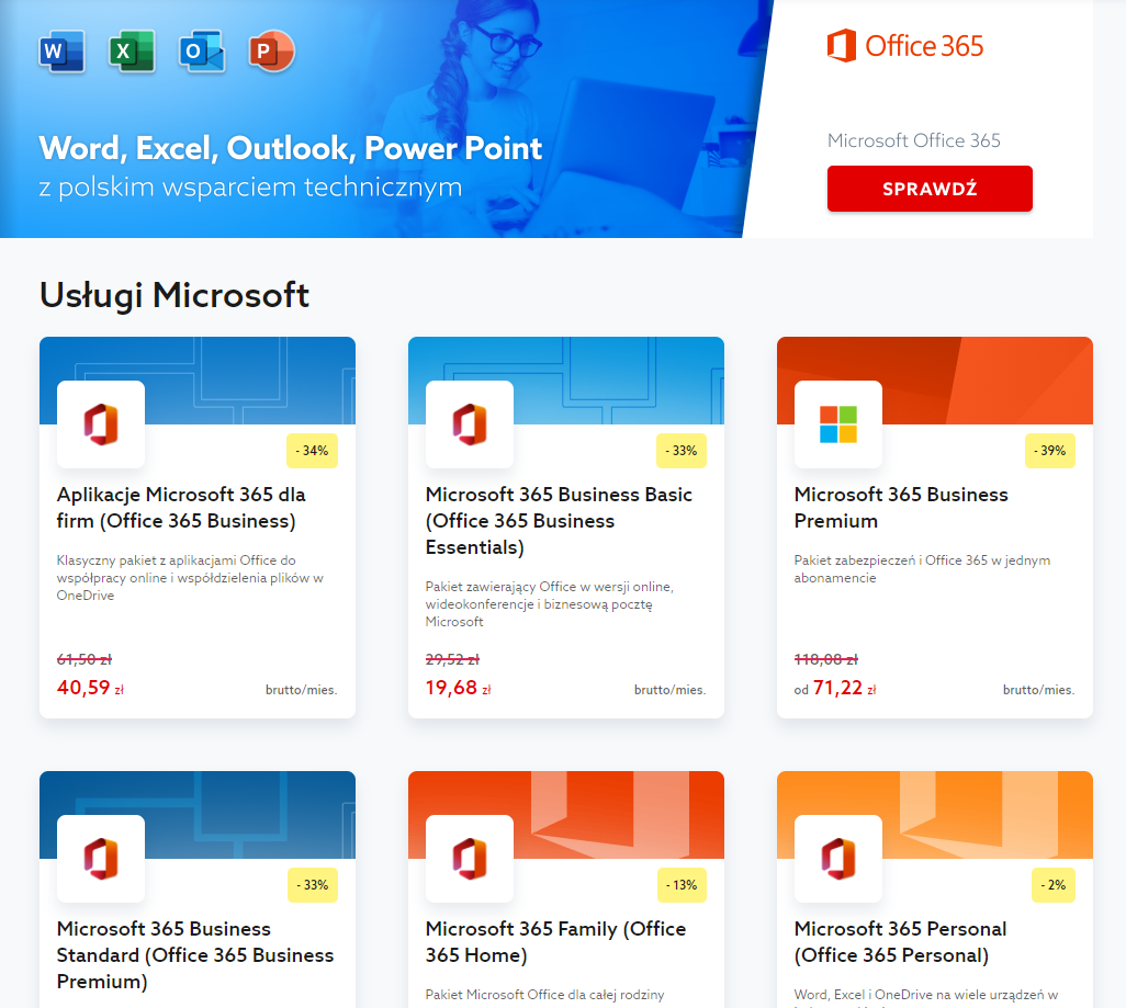 Jak Zamowic Pakiet Biurowy Office 365 W Home Pl Pomoc Home Pl