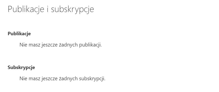 Jakie ustawienia mogę zmienić w sekcji Publikacje i subskrypcje w Poczcie home.pl?