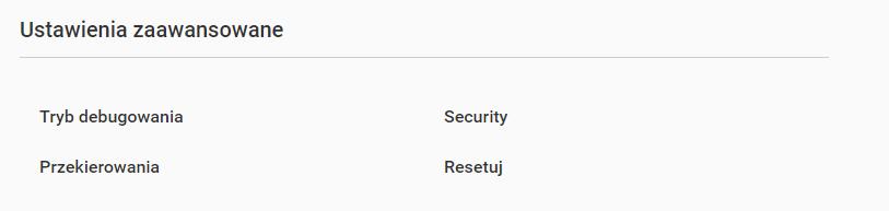 Resetowanie strony w Kreatorze Stron WWW