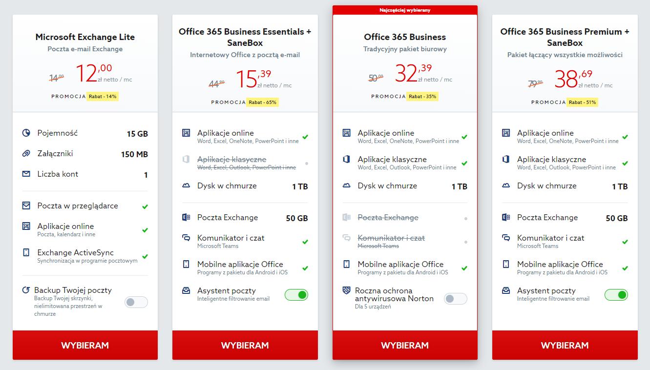 Jak zamówić pakiet biurowy Office 365 w home.pl?