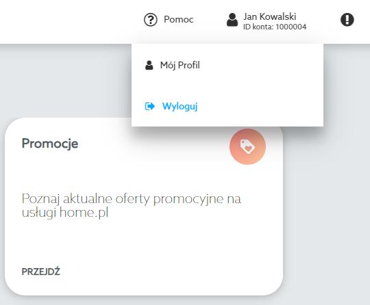 Panel klienta home.pl - informacje podstawowe