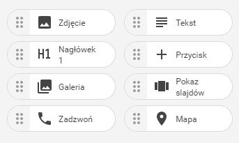 Wstawianie dodatkowych elementów strony WWW , widgety.