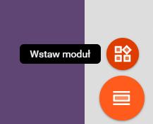 Wstaw nowy element strony w Kreatorze stron WWW