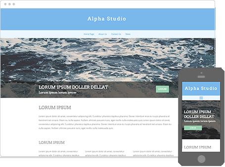 Szablon dostępny dla wersji Kreator Profesjonalny - Alpha-studio