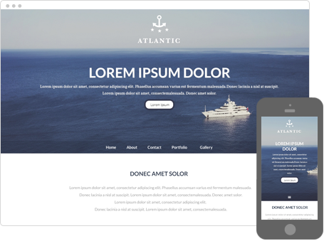 Szablon dostępny dla wersji Kreator Profesjonalny - Atlantic
