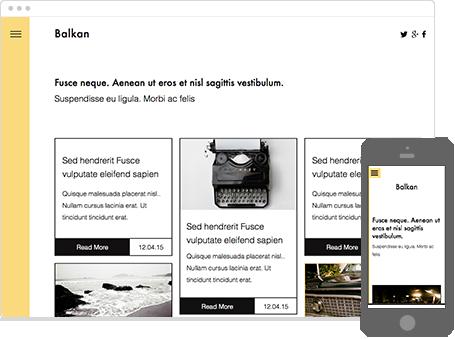 Szablon dostępny dla wersji Kreator Profesjonalny - Balkan