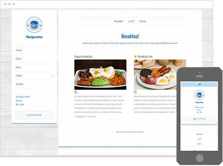 Szablon dostępny dla wersji Kreator Profesjonalny - Burgerama