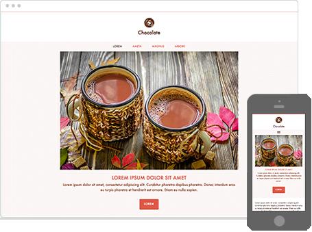 Szablon dostępny dla wersji Kreator Profesjonalny - Chocolate