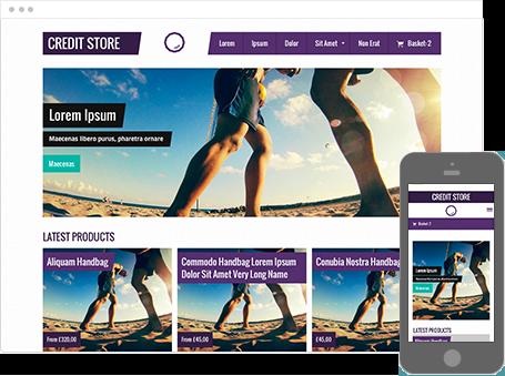 Szablon dostępny dla wersji Kreator Profesjonalny - Credit Store