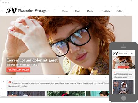 Szablon dostępny dla wersji Kreator Profesjonalny - Florentina vintage