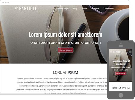 Szablon dostępny dla wersji Kreator Profesjonalny - Particle