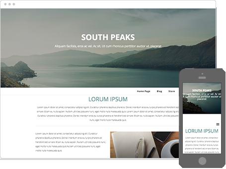 Szablon dostępny dla wersji Kreator Profesjonalny - South Peaks
