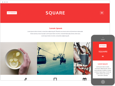 Szablon dostępny dla wersji Kreator Profesjonalny - Square