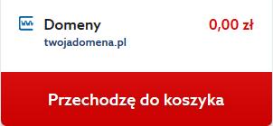 Transfer domeny do home.pl - przejdź do koszyka
