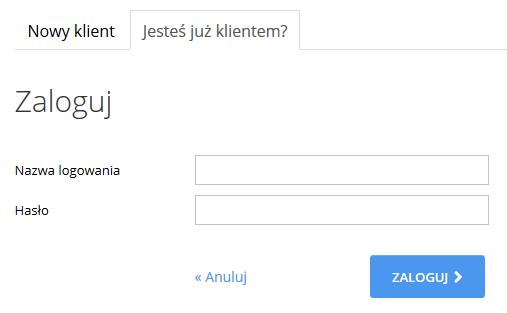 home.pl - Ochrona danych - Kopia zapasowa danych - Zamów - Subdomena - Zaloguj się
