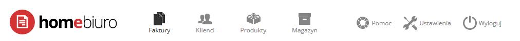 eKsięgowość - Panel klienta - Stare nazwy sekcji menu przed aktualizacją