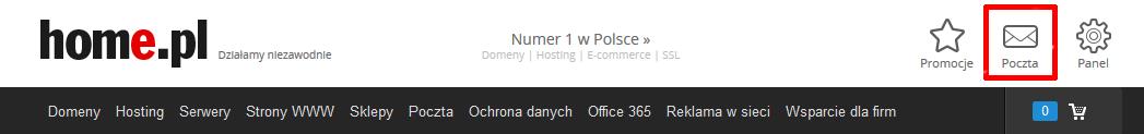Jak przenieść obsługę skrzynki e-mail na Poczta home.pl?