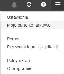 Poczta home.pl - Kliknij w ikonę trzech poziomych pasków i wybierz opcje Ustawienia