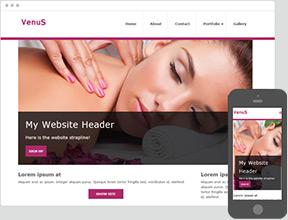 Click Web - Przykładowa strona główna stworzona w kreatorze stron WWW
